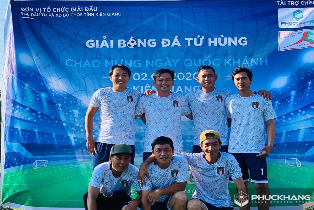 giải bóng đá phúc khang group 2020