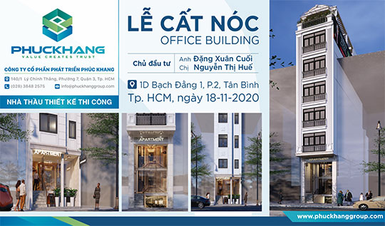 LỄ CẤT NÓC – OFFICE BUILDING