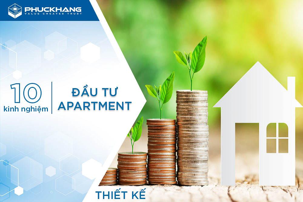 10 kinh nghiệm đầu tư apartment