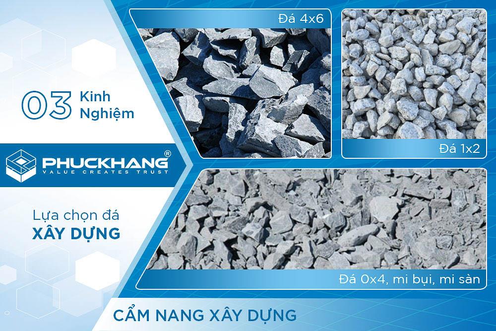 cách lựa chọn đá xây dựng