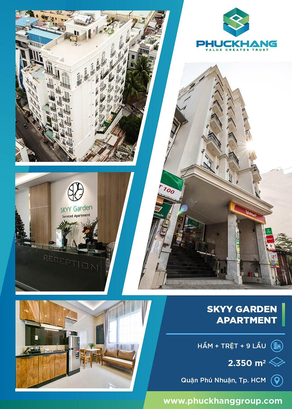 skyy garden apartment xây nhà trọn gói