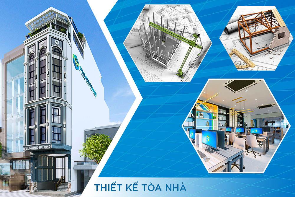thiết kế tòa nhà phúc khang group