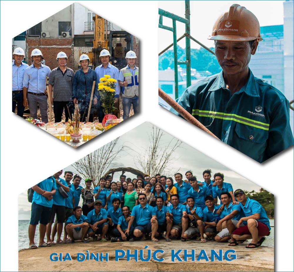 nhân sự công ty xây dựng phuc khang group