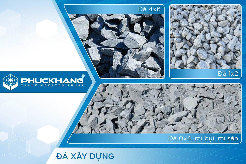 vật liệu xây dựng đá