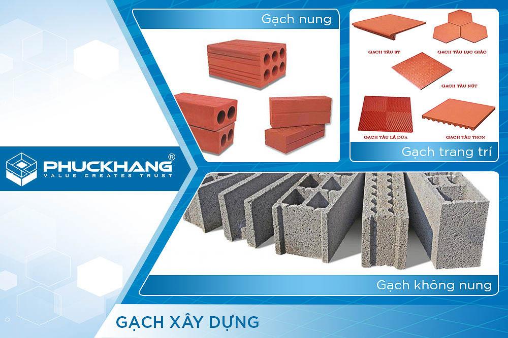 vật liệu xây dựng gạch
