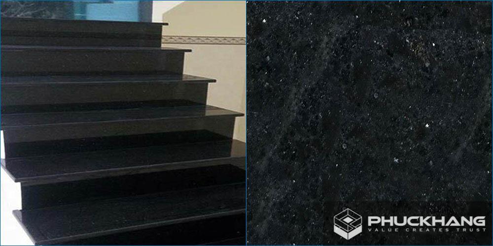 đá granite đen xám colombo