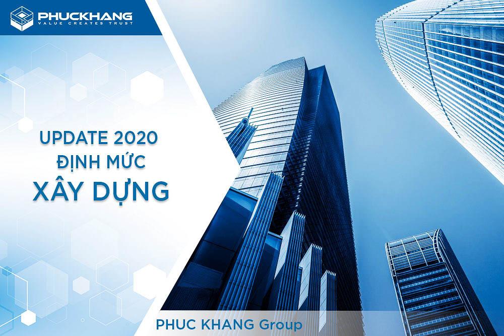 định mức xây dựng 2021