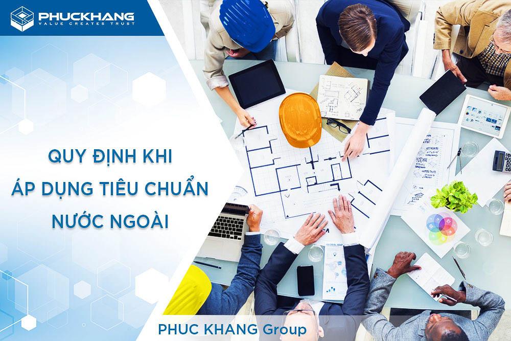 tiêu chuẩn nước ngoài quản lý dự án đầu tư xây dựng công trình