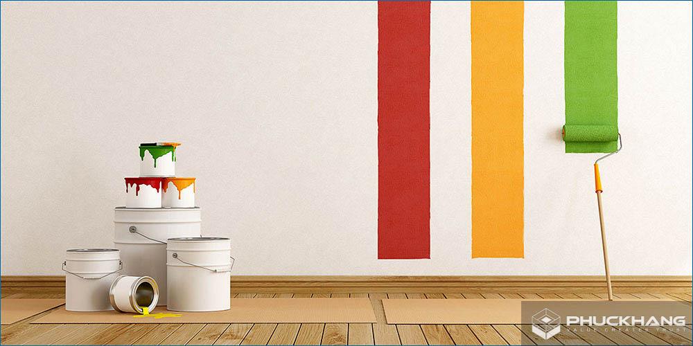 sơn nước trong nhà