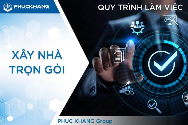 12 bước quy trình xây nhà trọn gói | Phuc Khang Group