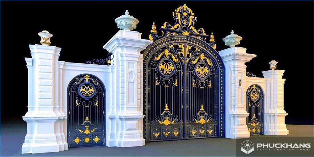 tổng quan về cổng nhà đẹp