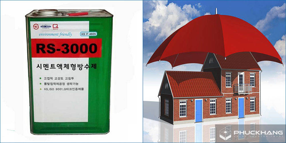 Dung dịch chống thấm RS-3000