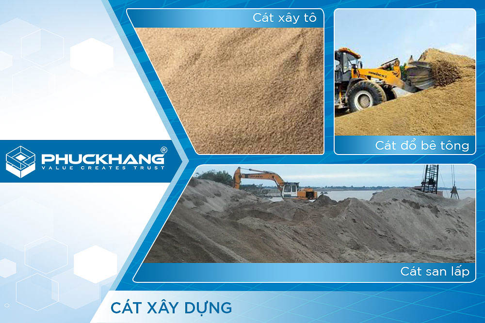 cát xây dựng là gì